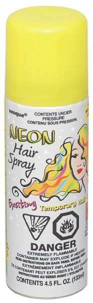 Neon Yellow Hair Spray